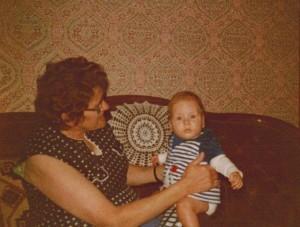 Oma en Marielle