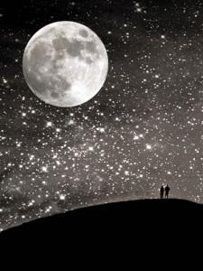 blog maan met sterren